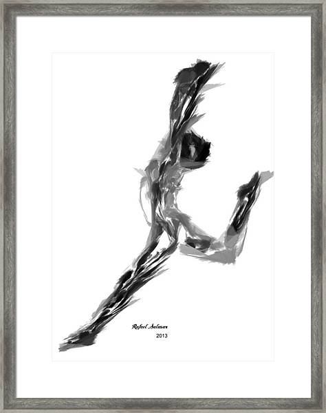 Finish Line Framed Print