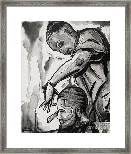 Finishing Touches Framed Print