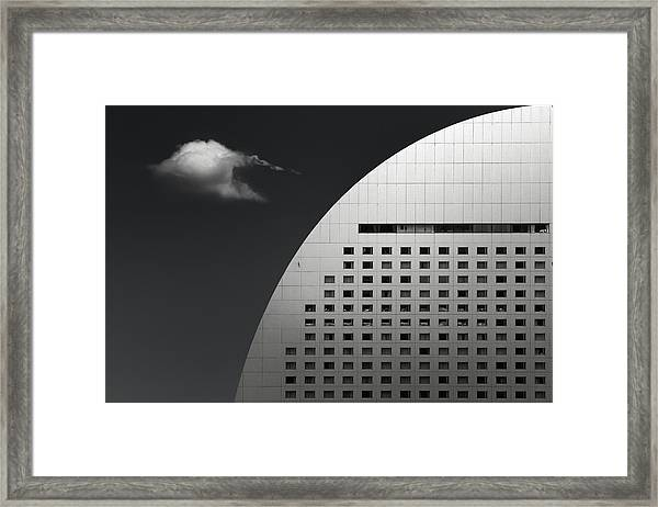 Finite Collaboration Framed Print by Dr. Akira Takaue