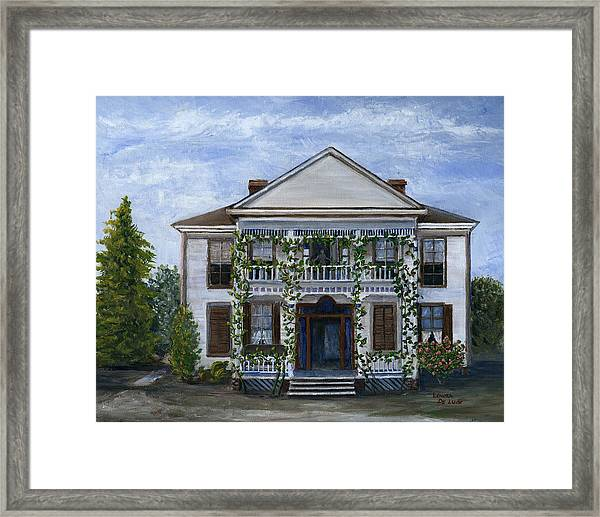 Finn Hotel Pleasant Hill Louisiana Framed Print