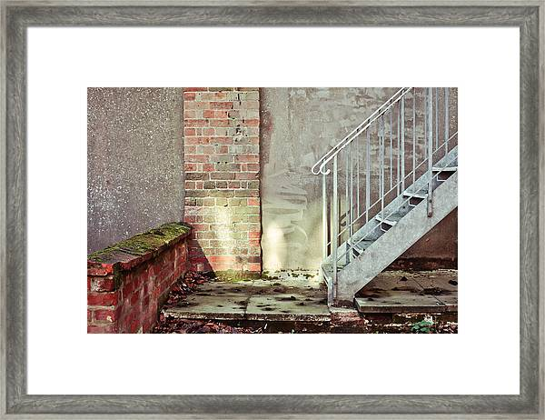 Fire Escape Stairs Framed Print