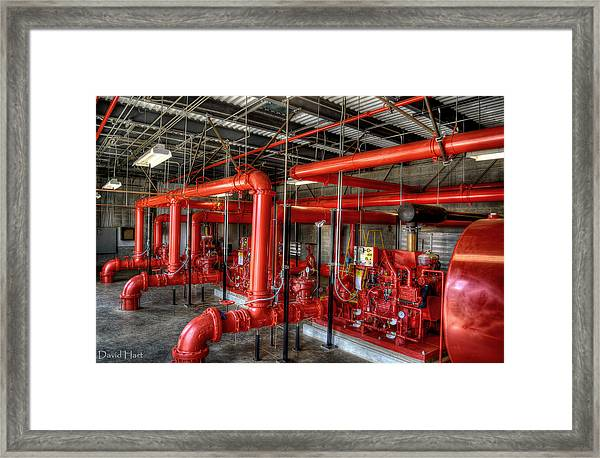 Fire Pump Framed Print