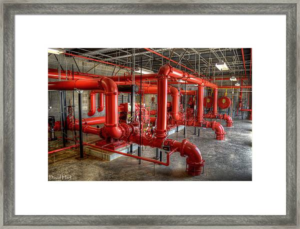 Fire Pump Room 2 Framed Print