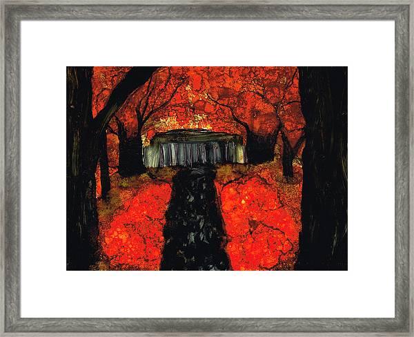 Firefall Framed Print