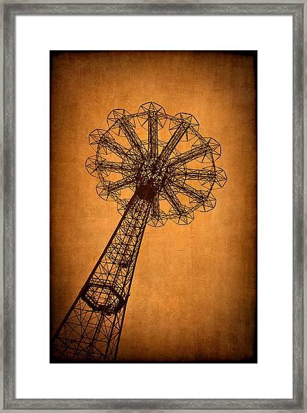 Firey Inspiration Framed Print