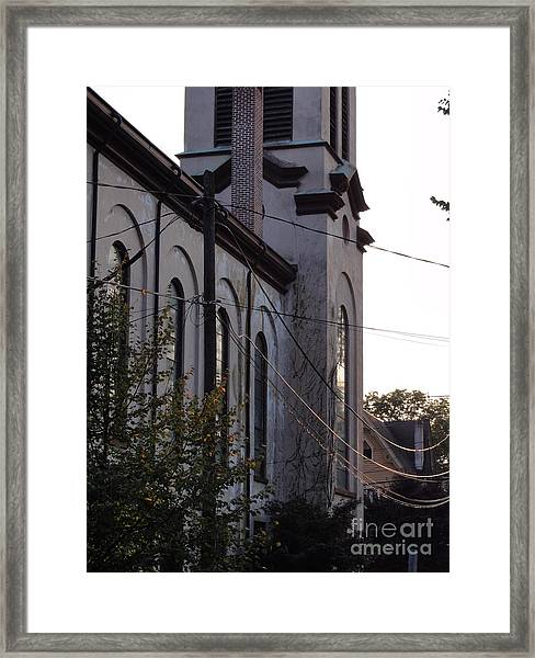 First Centenary Methodist Framed Print
