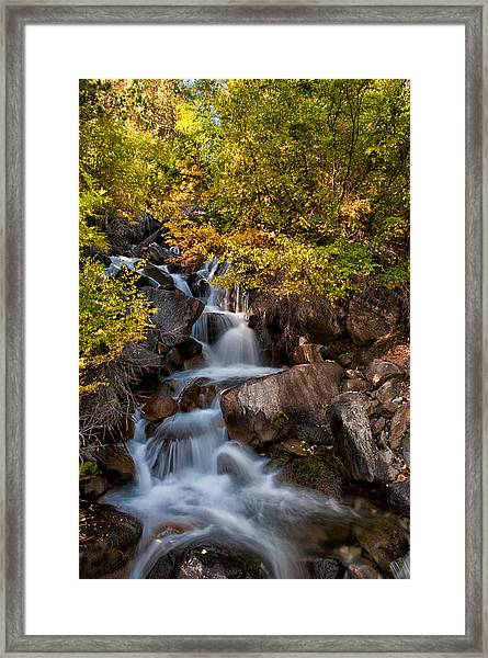 First Falls Framed Print