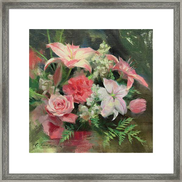 First Mother's Day Framed Print