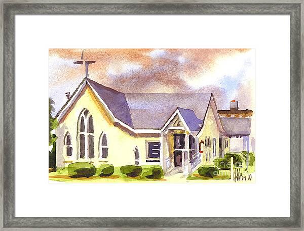 First Presbyterian Church Ironton Missouri Framed Print