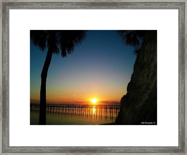 First Rise Framed Print