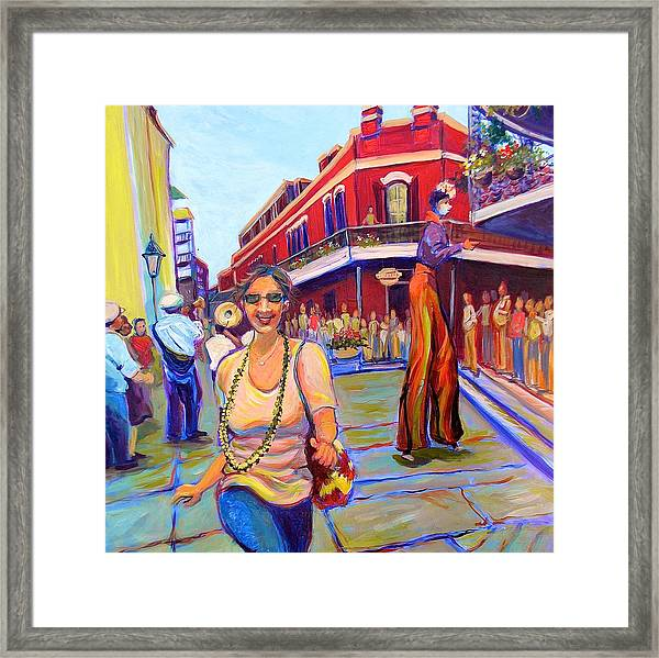 First Trip To New Orleans Framed Print