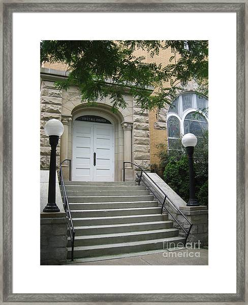 First United Methodist Church Williamstown Wv Framed Print