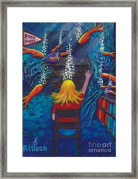 Fish Dreams Framed Print