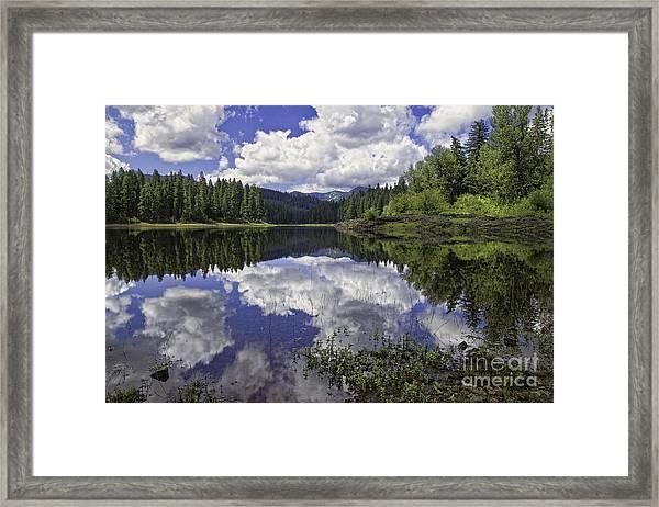 Fish Lake Framed Print