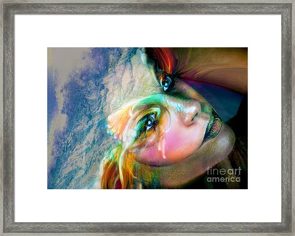 Fish Out Of Water Framed Print