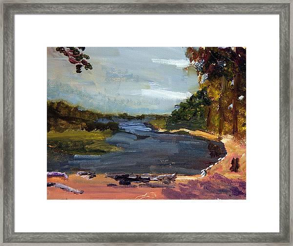 Fisherman's Landing Framed Print