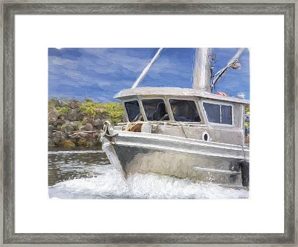 Fisherman's Prayer - West Coast Art Framed Print