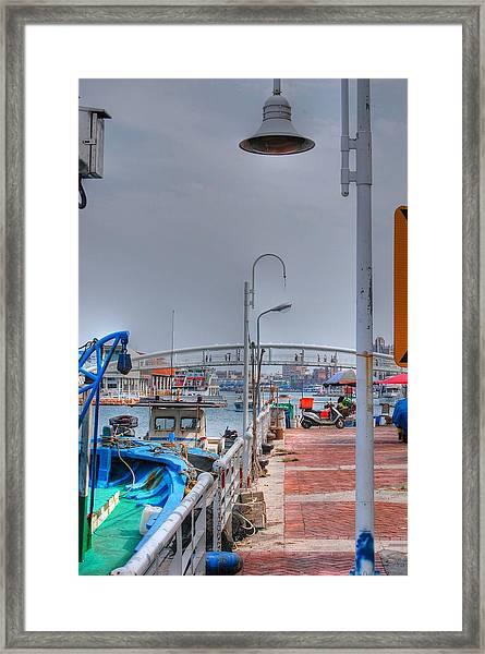 Fisherman's Wharf Taiwan Framed Print