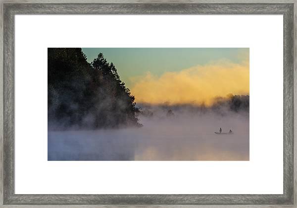 Fishing-3 Framed Print
