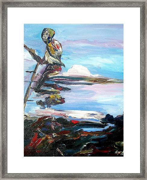 Fishing Day Framed Print