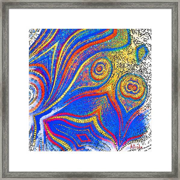 Fishing For Colours Framed Print