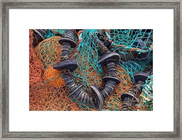 Fishing Gear Framed Print by Joe Cashin