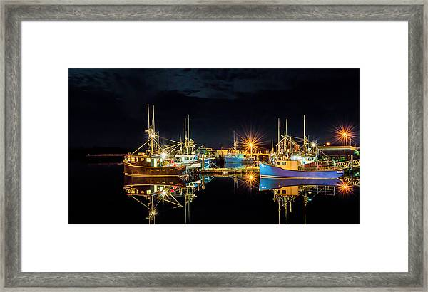 Framed Print featuring the photograph Fishing Hamlet by Garvin Hunter