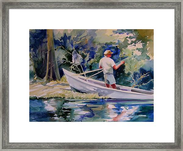 Fishing Spruce Creek Framed Print