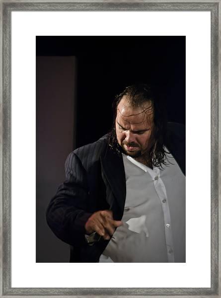 Flamenco Series 5 Framed Print