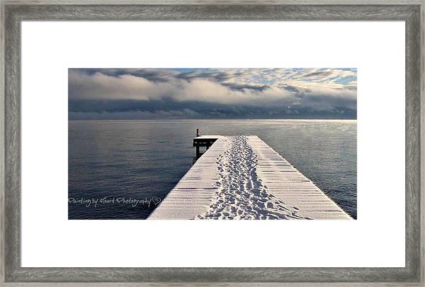 Flathead Lake Framed Print