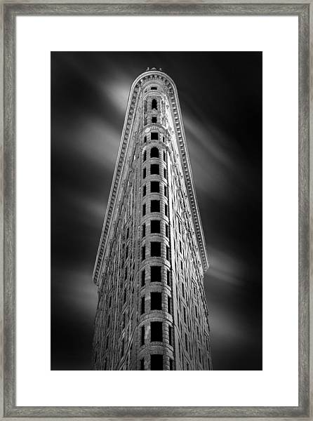 Flatiron Nights Framed Print