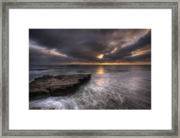 Flatrock Framed Print