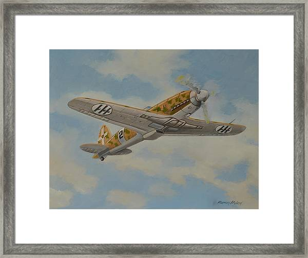 Flight Of The Folgore Framed Print