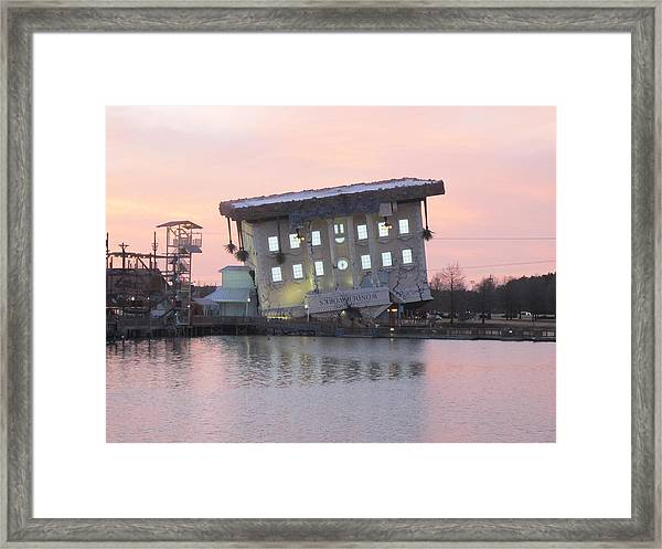 Framed Print featuring the photograph Flip by Ralph Jones