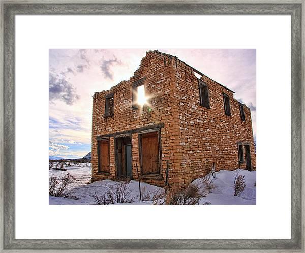 Flip This House Framed Print by Gene Praag