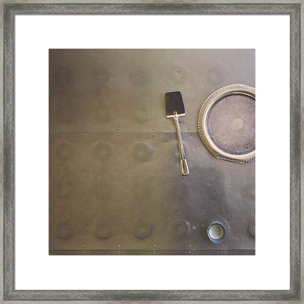 Flipping Out Framed Print