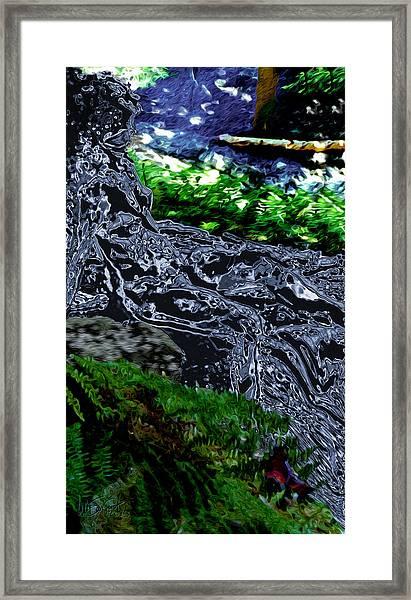 Flo Framed Print