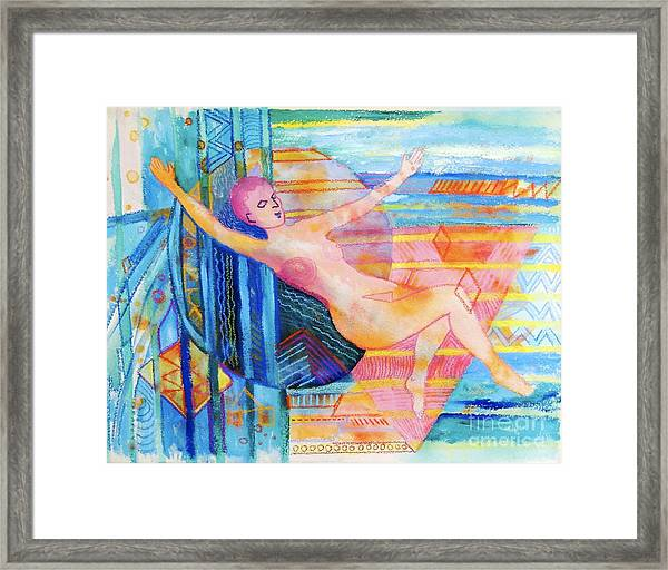 Floating Framed Print
