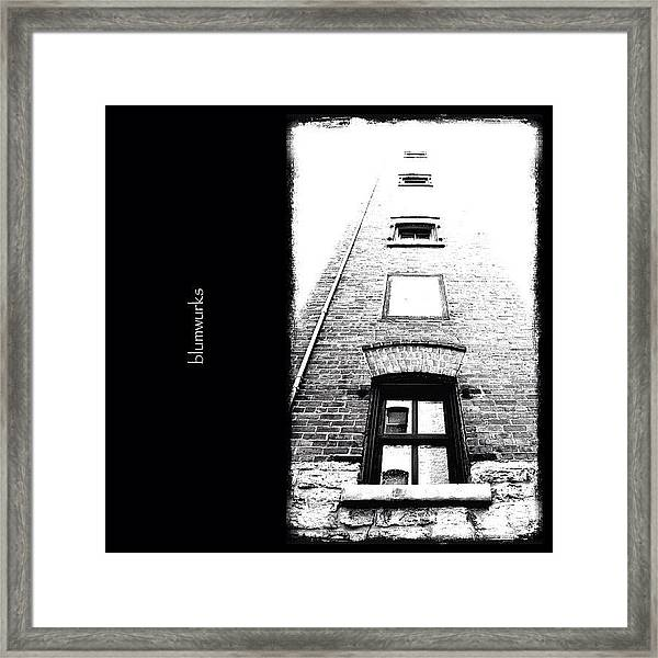 Floating Rooms Framed Print