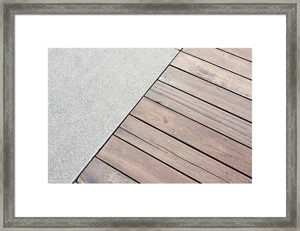Floor Framed Print by Hudiemm