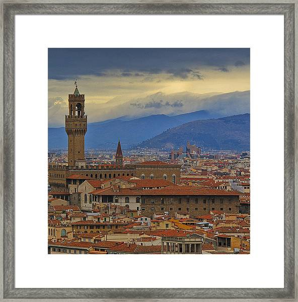 Florence Overlook Framed Print