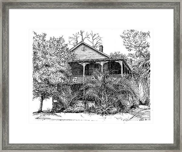 Florida House Framed Print