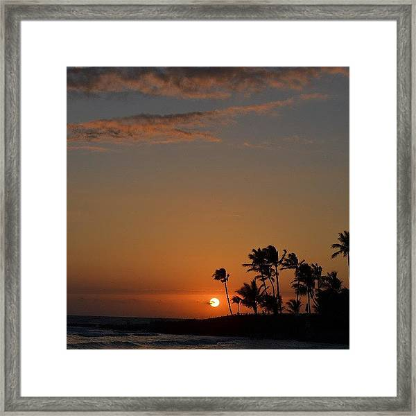 Florida Sunsets Framed Print