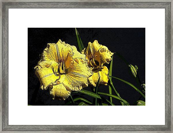 Flower Art03 Framed Print