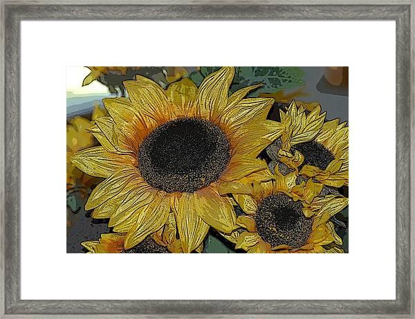 Flower Art04 Framed Print