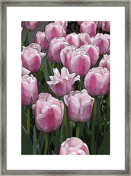 Flower Art06 Framed Print