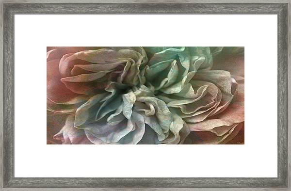 Flower Dance - Abstract Art Framed Print