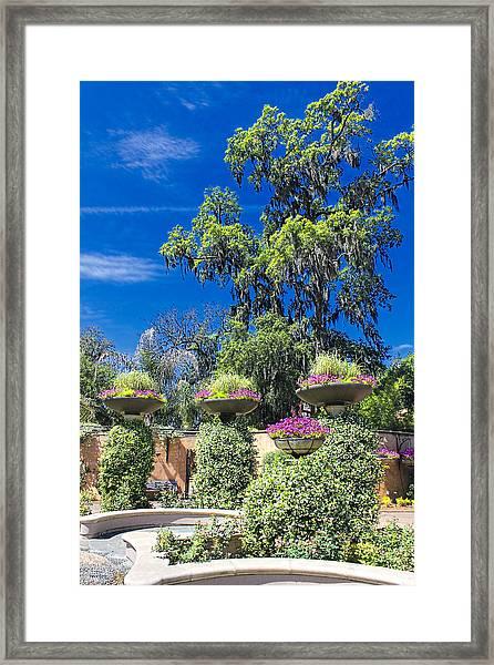 Flower Garden 04 Framed Print