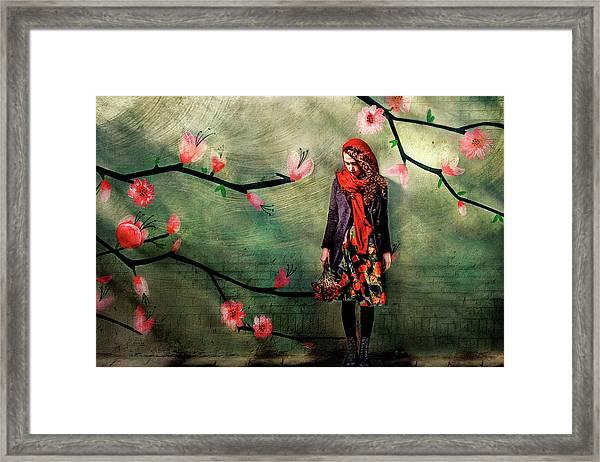 Flower Girl Framed Print