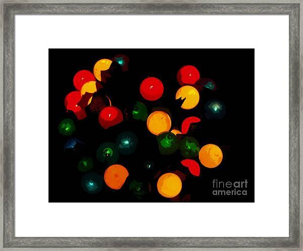 Flower Light Bunch Framed Print